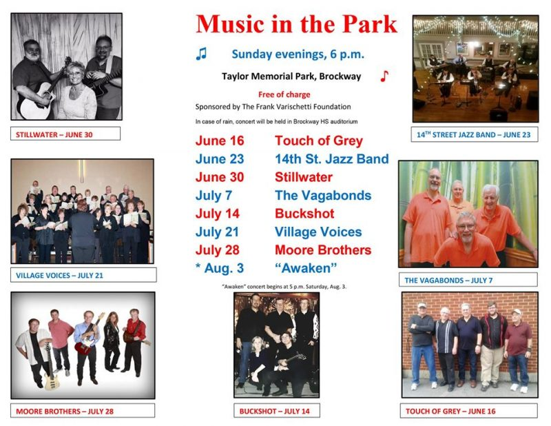 Music in the Park to Kick Off Father's Day