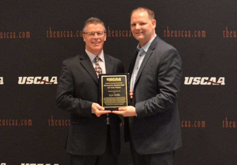 Nellis Named Athletic Director of the Year