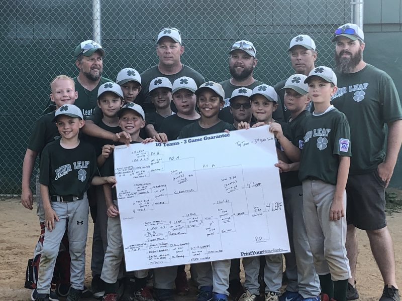 Four Leaf Wins Clearfield LL 9-10 Tourney