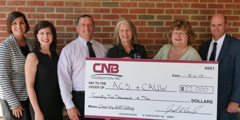 CNB Bank Raises $22,000 at Eighth Annual Charity Golf Tournament