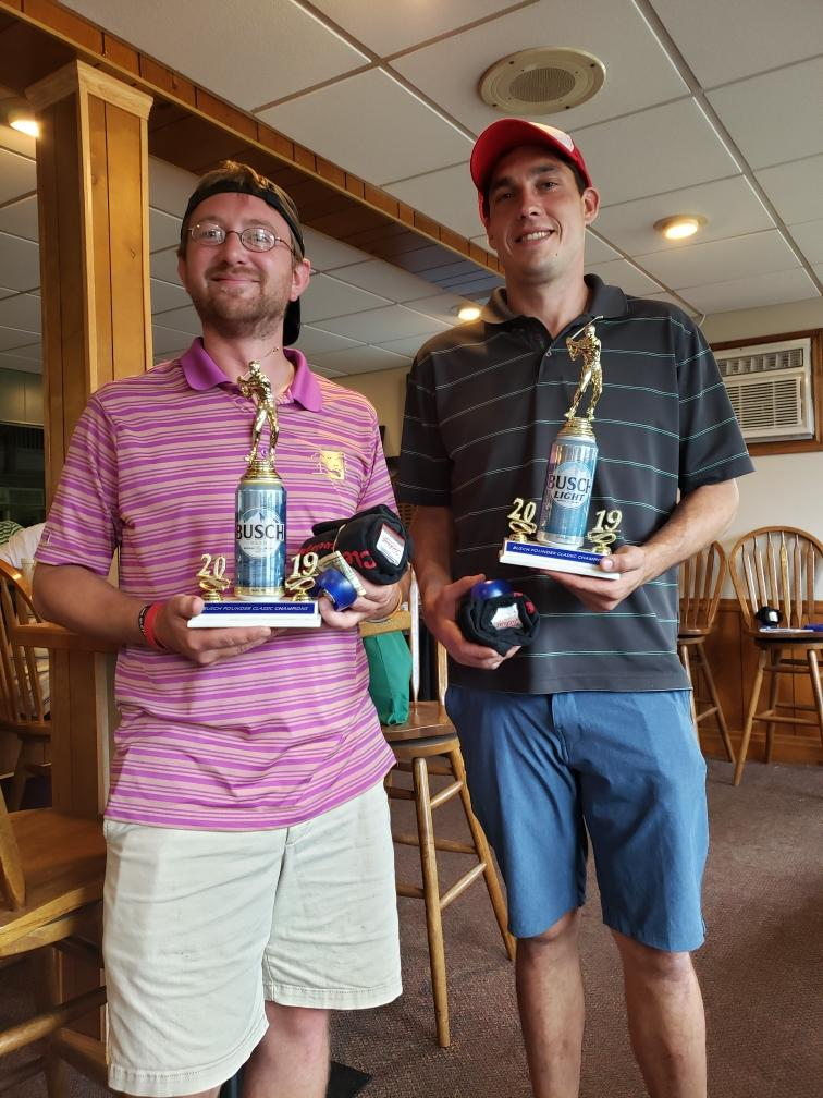 Shadeck, O'Link Win Busch Pounder Classic Golf Tournament