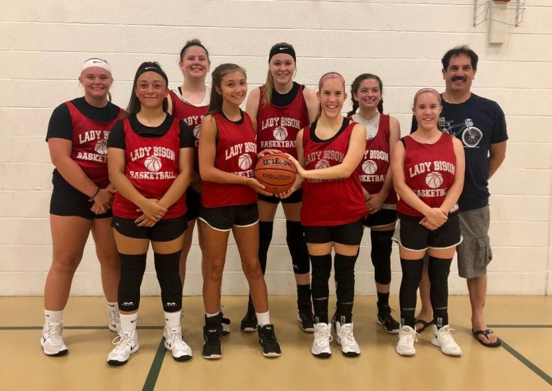 Clearfield Girls Win YMCA Summer League
