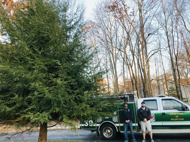 North Point Fire Company to Host Christmas Tree Sale