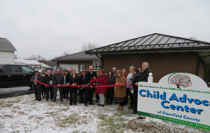 Child Advocacy Center of Clearfield County Holds Ribbon-Cutting
