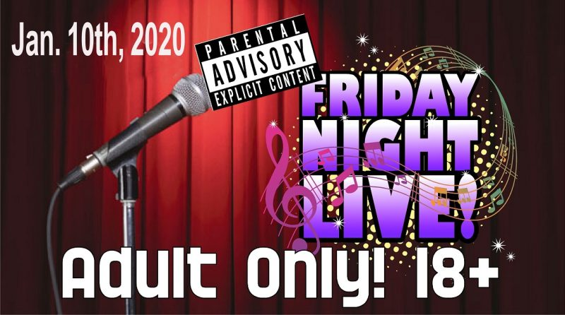 CAST to Host Adult Only Friday Night Live